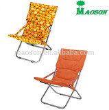 selling 2014 most HOT folding sun lounger chair with thick padding