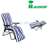 selling 2014 comfortable sun lounger chair with cotton padding