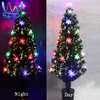 Fiber optic tree light-emitting Led Christmas tree 120CM 4Ft Christmas Decoration Supplier Holiday Ornament Factory