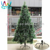 59 Incht/150CM Snowy White Christmas Tree PET Pine Needle With Led Luxury Christmas tree Decoration Holiday Ornament