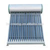 18 evacuated tubes compact solar hot water heater