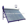 30 evacuated tube compact low pressure water solar heater