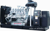 Remote cntroller Mitsubishi 500KW diesel generator set in well performance