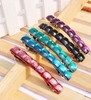 Korea style new fashion fancy colored cyrstal hair clip for girls thick hair
