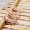 new style fancy butterly shaped rose gold hair clip