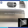 Filter Cylinder Type and Liquid Filter Usage perfect round stainless steel wedge wire mesh