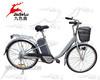 250W 36v steel frame city electric bike front basket