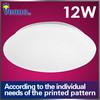 Special offer 230MM white modern led ceiling fixture Epistar chips SMD 5730 AC85-265V office 12w Aluminum ceiling lighting