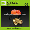 Electric 3-way ball valve switch,ball valve with electric actuator,switch ball valve,HVAC,heating system,water treatment system