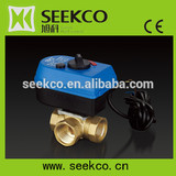 Motorized Mixing Valve, Tee electric temperature regulator valve, manufacture