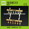 Manifold for floor, under floor heating system manifold, brass water manifold, manifold for heating,manifold