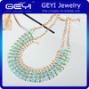 2014 hot sell necklace,glass beads fashion necklace