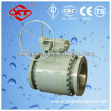 WCB flange ball valve gear operated factoy wenzhou