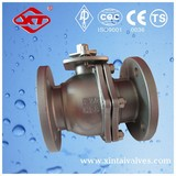ansi b16.34 flanged stainless steel ball valve handle