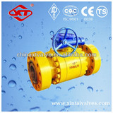Class 2500 Forged steel Ball Valve gearbox operated