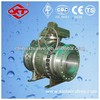gear operated type Forged trunnion mounted ball valve