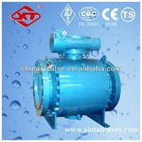 forged trunnion mounted ball valve, 3PC ball valve