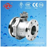2 inch stainless steel Flanged ball valve with Lever