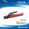 Arc weld electrode holder