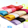 SOLID color polyester grosgrain ribbon for apparel