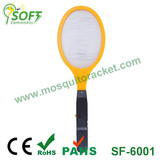 SF-6001 AA battery fly swatter with CE & RoHS