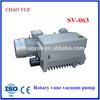 SV063 rotary vane vacuum pump for single stage rotary vacuum pump rs-1