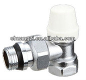 Brass Thermostatic Valve with Water Polishing Chrome Plated