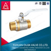 forged ball valve MM male/male brass ball valve 1/2''-2''