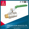 CW617 Pn25 screwed brass ball valve