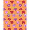 2014 summer new design cartoon flower flannel fleece fabric in soft quality