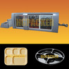 600x400 HGMF-600A PP PS PVC PET APET HIPS ABS salads tray blister thermoforming machine