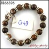 Natural stone jewelry colorful agate beads bracelet wholesale gemstone jewelry