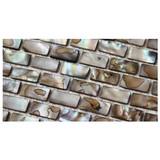 Strip Shell Mosaic Tiles, pure white Shell tiles, Naural Mother of Pearl Tiles, bathroom wall flooring tiles