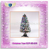 2015 popular colorful bubble led lights artificial Christmas Tree