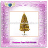 2015 Hot selling Gold leaves lighted Artificial Christmas Tree