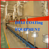 Aluminum wheel powder coating line