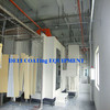 Indoor furniture powder coating line