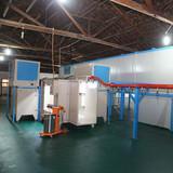 New Design Powder Coating Booth& Powder Coating Line