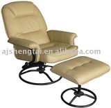 PU recliner chair