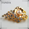 Freshwater pearl brooch wholesale cheap gold bulk jewelry