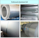 3003 h16 five bar aluminum coils for anti-skid henghao