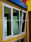 Double glazed aluminum window