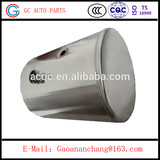 380L Round aluminum alloy fuel tank truck for sale