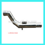 truck stainless steel inlet air pipe