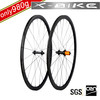 2014 XBIKE hand built chinese lightweight carbon fiber bicycle wheelset