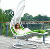 wholesale egg chaped swing hammock chair swing chair hanging pod chair rattan hanging swing chair outdoor double swing chair