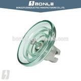 100-140kv pin type toughened glass insulator