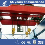 QD workshop double girder electric overhead crane 25ton