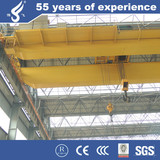 Good Cost Europe Style double girder overhead crane 50 ton