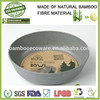 bamboo fibre biodegradable and eco friendly eco snacks bowl plastic bowl